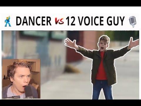 SINGER vs DANCER Roomie vs Merrick 12VoicesChallenge