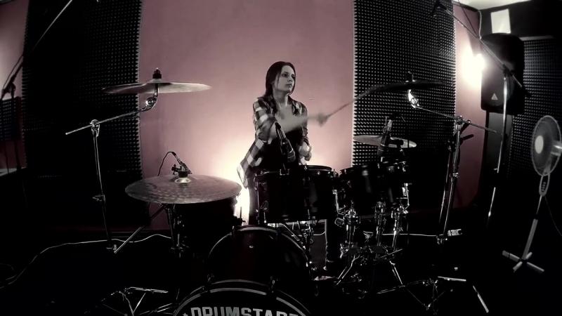 Алёна Красова(на барабанах) - Сид и Нэнси (Lumen drum cover)