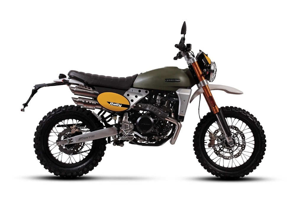 EICMA 2018: мотоцикл Fantic Caballero Rally 500 2019