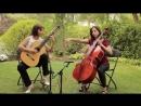 Paola Requena y Marta Requena Valsay para Cello y Guitarra