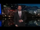 Jimmy Kimmel Explains His Reaction to Fergies Unusually Sultry National Anthem at NBA All-Star Game