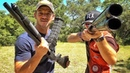 Два офигительно разных ружья | Разрушительное ранчо | Перевод Zёбры