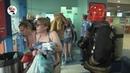 Пожарная эвакуация 500 человек из аквапарка Real video