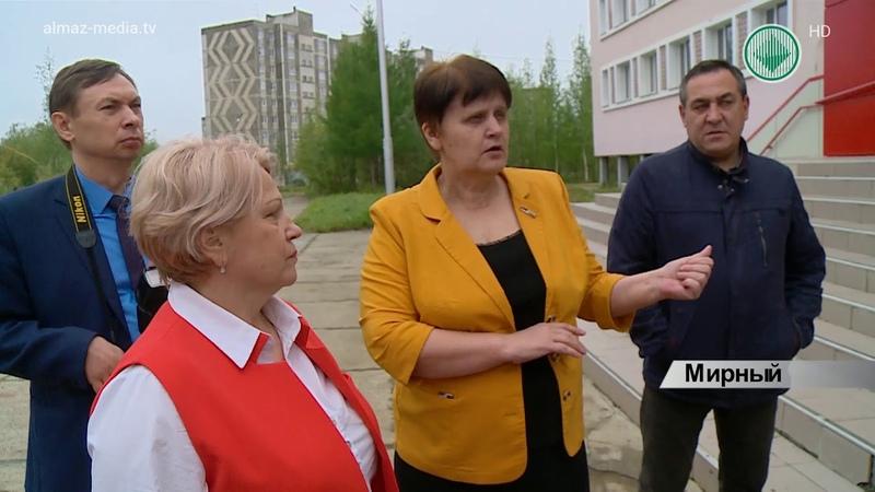 В Мирнинском районе завершается приемка школ к учебному году