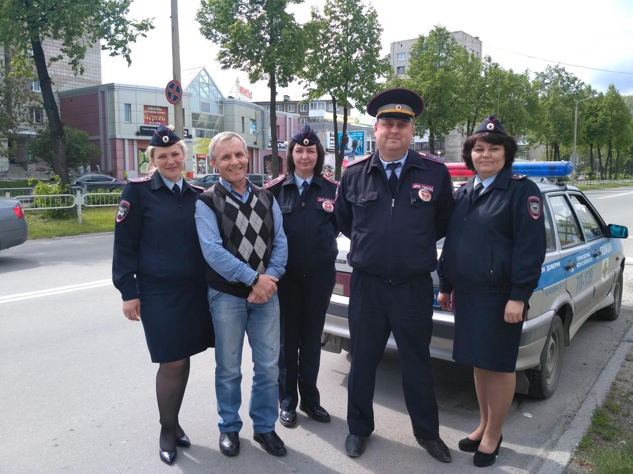 Акция «Пешеходный переход-территория безопасности»