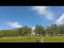 показательные полеты в лагере отдыха Жигулевский Артек
