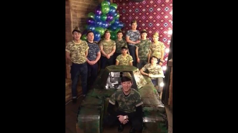 Армия флота «ФЬЮЖН» ГОТОВА! Докладываем : «Все подготовили! Готовы к принятию военного парада! Ждём всех БОЙЦОВ в своём БЛИНДАЖЕ