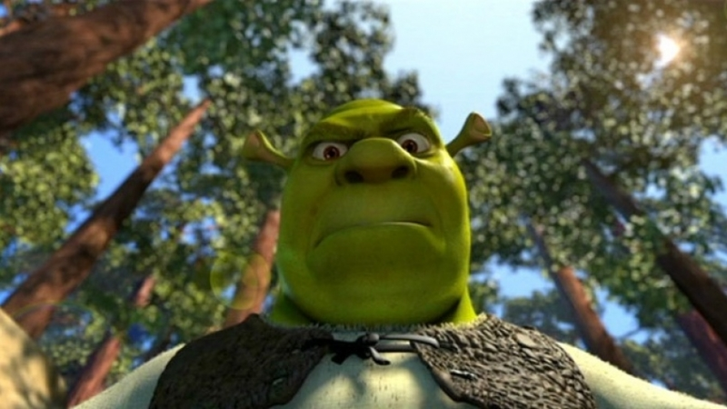 SHREK IS CUMING. PORN ONE