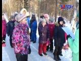 « Вот так чудо - снеговик!». Весёлая зимняя прогулка порадовала гостей экологической библиотеки.