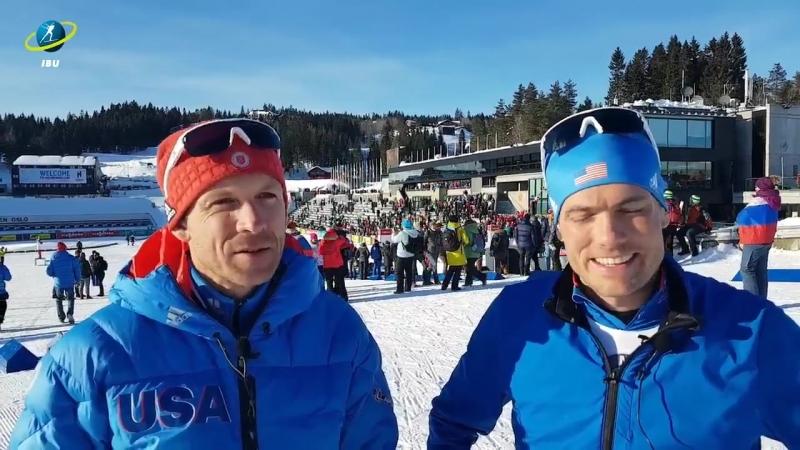 Лоуэлл Бэйли и Тим Бёрк об окончании карьеры (Хольменколлен 2018)