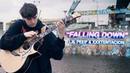 Lil Peep XXXTENTACION - Falling Down - Fingerstyle Guitar Cover