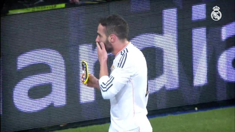 Los goles de Carvajal en el Real Madrid
