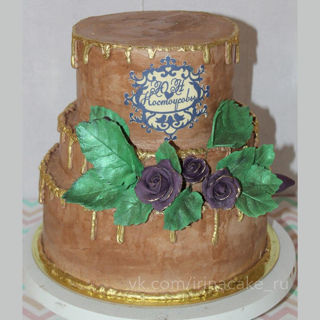 """Свадебный торт """"Шоколадное настроение"""" (Арт. 79)"""