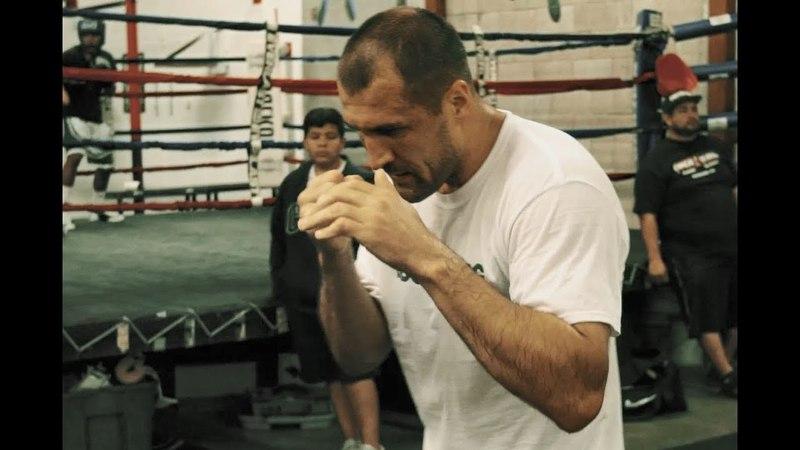 Сергей Ковалев Тренировка Kovalev Krusher training