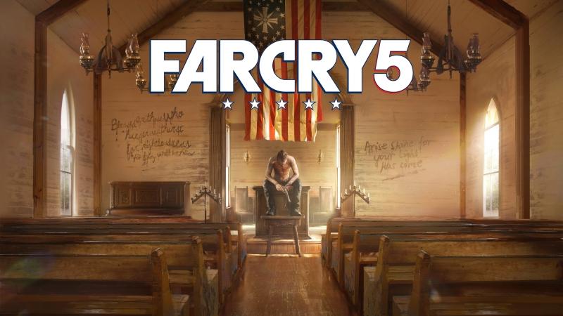 Far Cry 5 стреляем в воздух копаемся в удобрениях продолжаем водить как говно