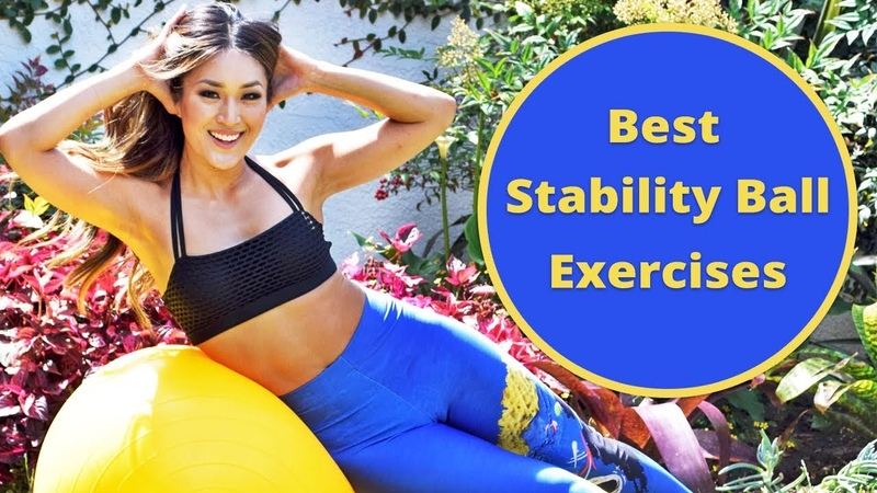 7 Best Stability Ball Exercises for Abs Core - Abs and Core Workout