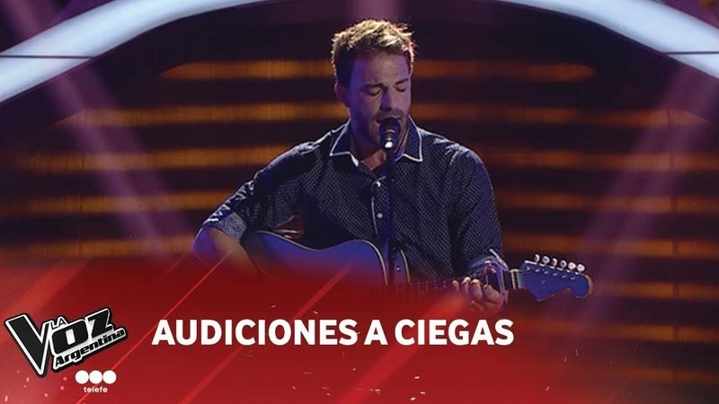 Braulio Assanelli - Tanto - Pablo Alborán - Audiciones a Ciegas - La Voz Argentina 2018