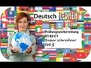 Besser schreiben 3 Deutsch B1 B2 C1 Prüfungsvorbereitung