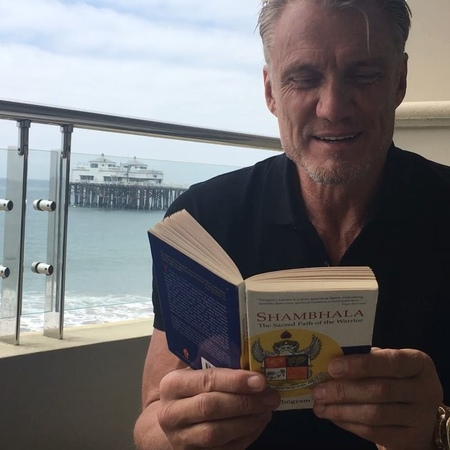 Dolph Lundgren on Instagram One of my favorite books 'The Shambala Warrior' by Chogyam Trungpa There's a basic human wisdom that can help solve