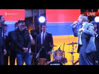 Никол Пашинян назвал Сержа Танкяна Саргсяном
