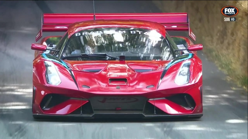 Goodwood Festival Of Speed 2018. First Glance (Fox Sports)