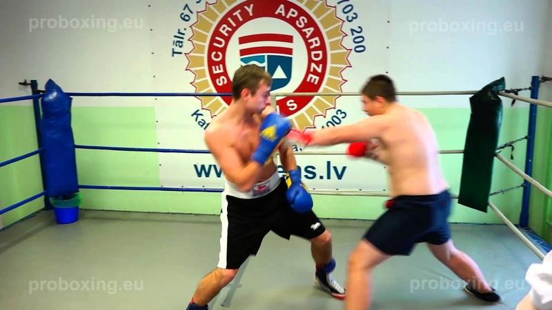 29.01.2015 Daniil Vasilenko (LAT) VS Aleksejs Palčuns (LAT) proboxing.eu