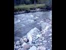 звук горной реки