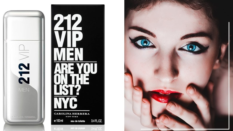 Carolina Herrera 212 Vip Men Каролина Херрера 212 Вип Мен - обзоры и отзывы о духах