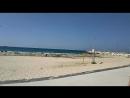 Прогулка по берегу Средиземного моря.