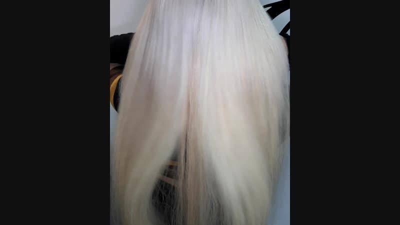 Блонд 70 см 110 грамм