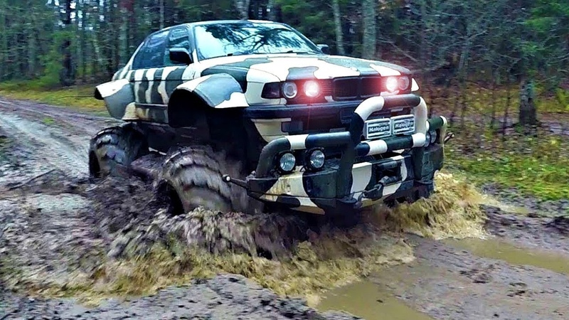 Offroad Vehicles that Weren't Meant to be