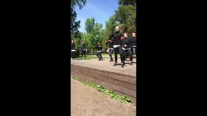 Выступление команды Степашки CREW от АСТ NEXT на празднике 2 06 18