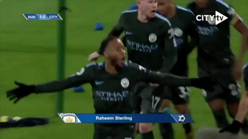 The @sterling7 late show! Last time we faced the Terriers! cityvhudds mancity