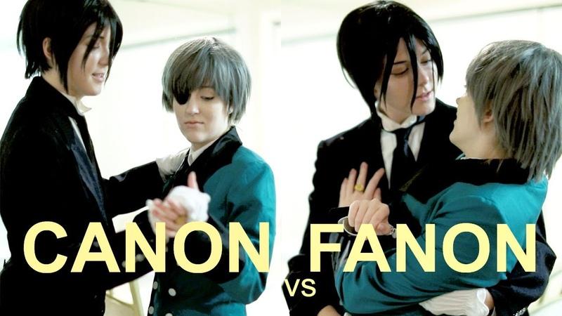 CANON vs FANON : SEBACIEL | Ciel x Sebastian | Black Butler