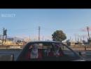Михакер GTA 5 Online Смешные моменты перевод 77 - Рождество, Санта Клаус, Танцы в машине