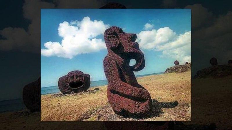 Смотри и думай...История 1.Истуканы о.Пасхи...History 1.Statues of Easter island...