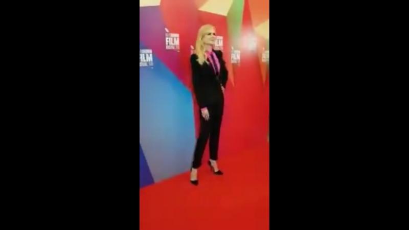 Николь на премьере фильма «Разрушитель» на кинофестивале в Лондоне