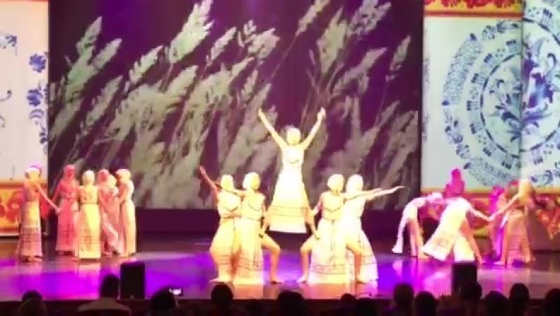 Ансамбль современного и эстрадного танца Атлантида Танец Русь