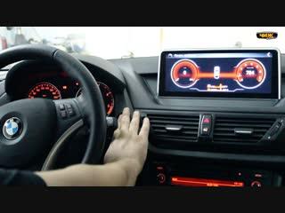Штатное головное устройство на BMW X1 2012 года