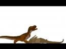 Small Batl Torwosaurus and Trex