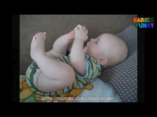Cutest Babies Sucking Toes - Funny Babies Videos