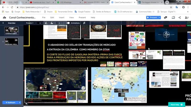 0339 - PARTE 2 - CAPA THE ECONOMIST 2019 - O FUTURO NEGRO APROXIMA-SE? - 20h30