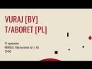 Гурт Vuraj запрашае на вялікі свой канцэрт з польскім гуртом T Aboret