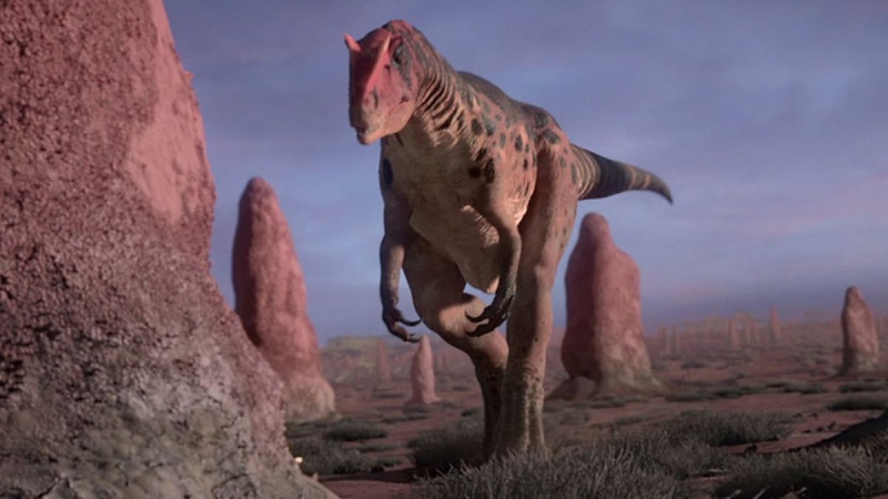 Динозавры под музыку