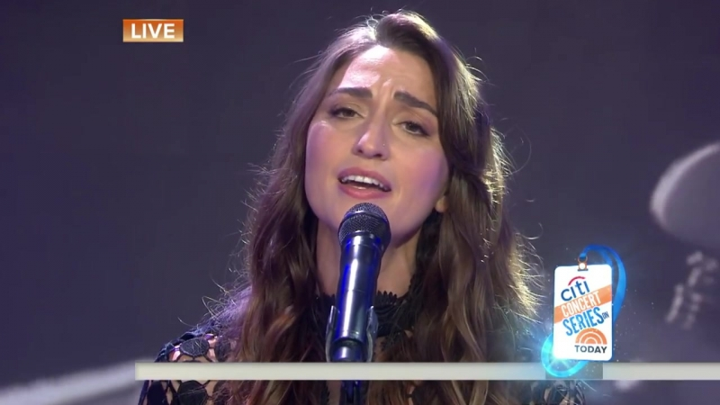 Sara Bareilles - She Used to Be Mine (Live on Today Show)