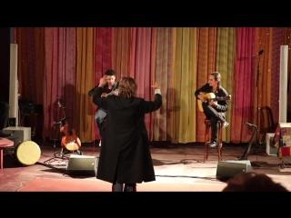 Nilda FERNANDEZ - 3 - concierto Federico GARCIA LORCA -circo ROMANES Paris 07-04