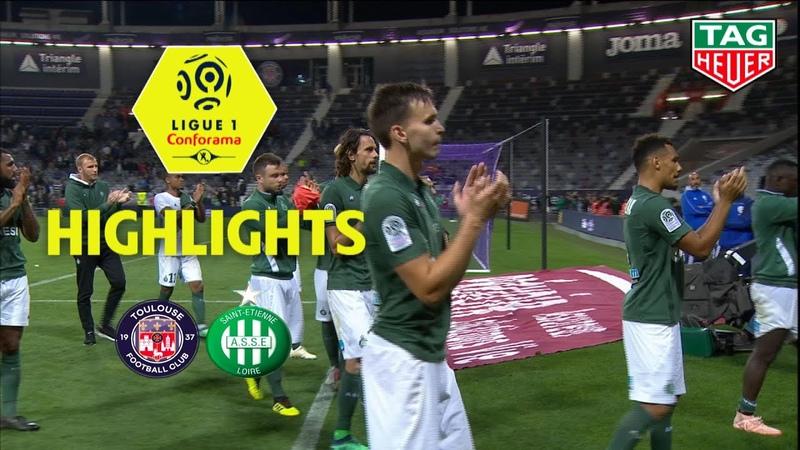 Toulouse FC - AS Saint-Etienne ( 2-3 ) - Highlights - (TFC - ASSE) / 2018-19