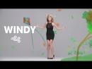 """Taft-Werbung mit Heidi Klum """"Windy"""""""