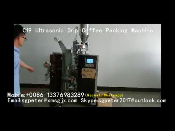 C19D Drip Coffee Packing Machine Упаковочная машина для кофе