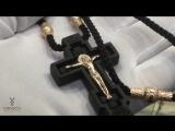 Православный крест из эбенового дерева